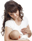Breastfeeding woman